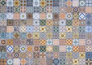 colorful tile flooring Akron
